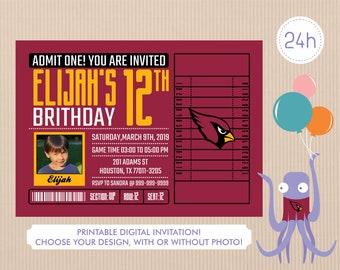 377d2af9 Cardinals invitation | Etsy