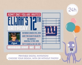 picture about Ny Giants Printable Schedule called Ny giants printable Etsy