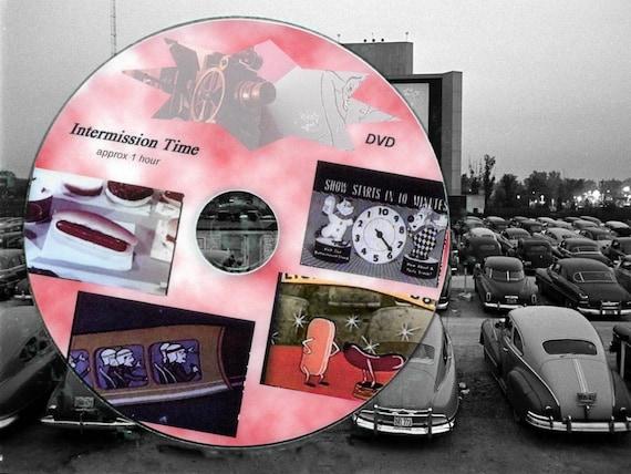 1950 S 60 S Drive In Movie Theatre Intermission Films Etsy