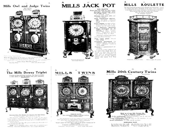 Mills Trade Stimulators /& Money Makers catalog Early 1900/'s Cleaned And Restored
