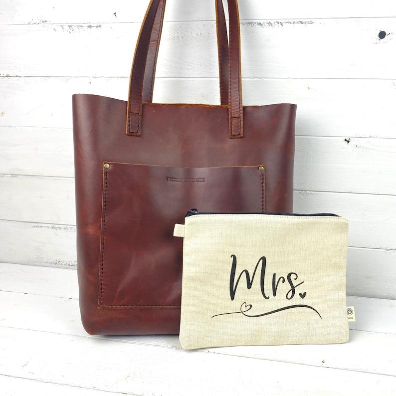 Bride Hemp Zipper Pouch Bride Makeup Bag Purse Organizer Makeup Bag Hemp Bag Hemp Pouch Small Bride Bag Small Packing Bag Mrs