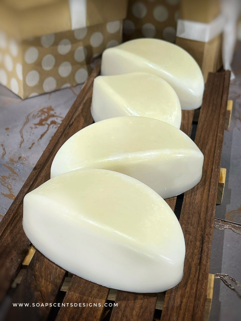 Coconut Lemongrass Soap Bars  Luxurious Handmade Rice Soaps  image 1
