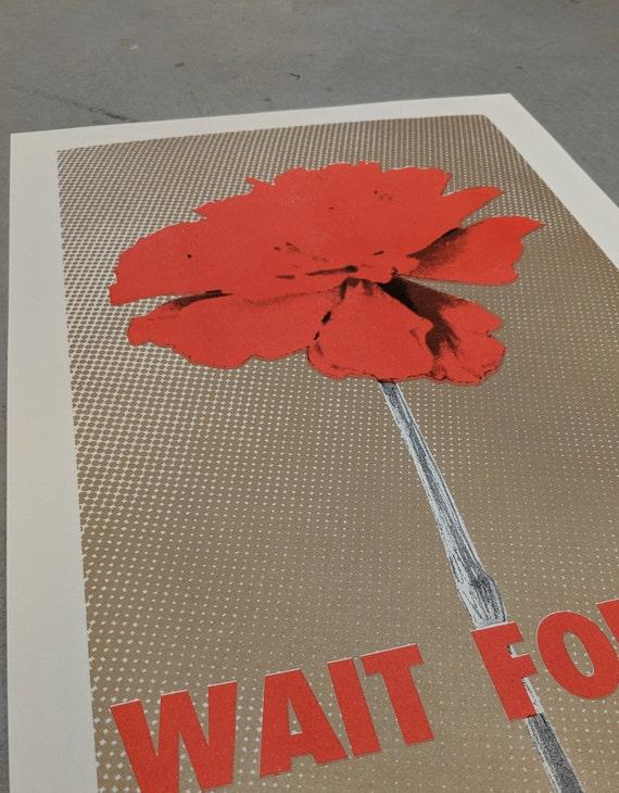 Hadestown: Wait for Me – 11x17 Original Illustration Risograph Print  Limited Edition