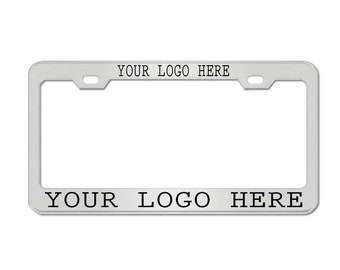 I/'D RATHER BE IN LAKE WORTH Metal License Plate Frame Tag Holder Two Holes