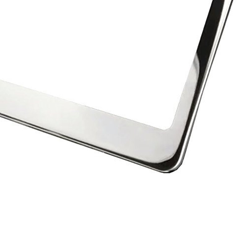 Advertise Your Logo Text Personalized License Plate Frame Customizable Personalized Custom Made Heavy Duty Auto Car Truck SUV Tag Cover