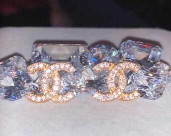 fbd8af3e8f Nuovi orecchini fatti a mano cristallo oro