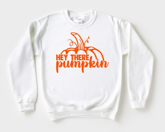Hey There Pumpkin Fall Sweatshirt, Pumpkin Patch Sweater