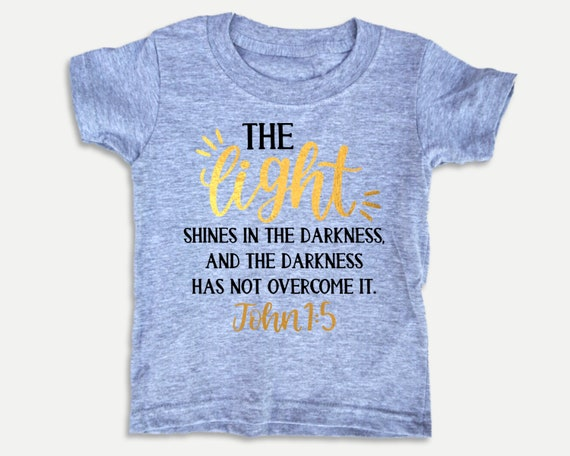 Christian toddler shirt with Bible verse, Bible t-shirt for toddlers, gender nuetral toddler clothes, Christian Christmas Gift