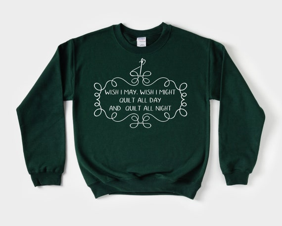 Funny Quilter Sweatshirt, Quilting gift for her,  gift for Quilter