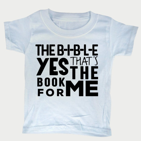 Christian toddler shirt with Bible Song, Sunday school shirt, Bible t-shirt for toddlers, gender neutral, toddler clothes