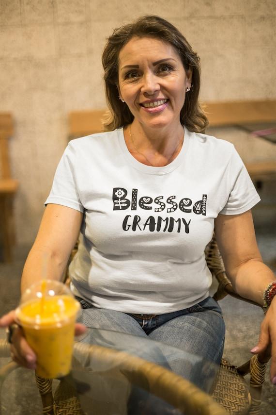 Blessed Grandma Shirt, Mother's Day gift,  Grandma gift, casual top,ladies cut t-shirt, unisex t-shirt