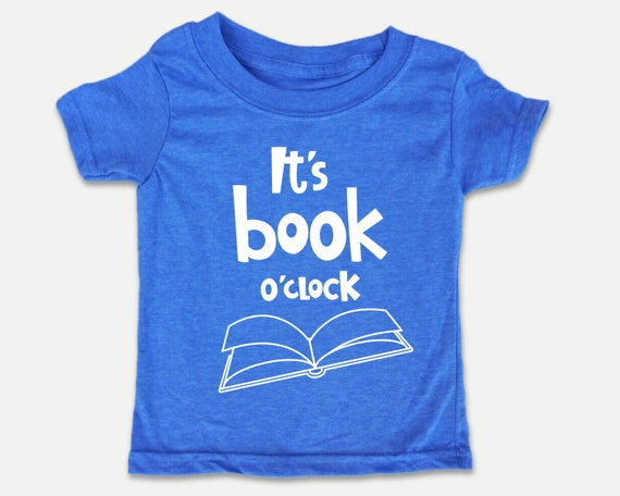 It's Book O'clock Toddler Tee, Funny Reading Books t-shirt for Toddlers