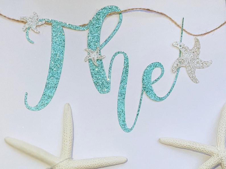 under the sea birthday Under the sea banner mermaid banner mermaid baby shower