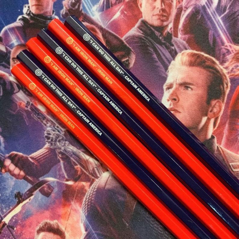 Marvel Avengers Berühmte Zitate Pencil Iron Man Captain America
