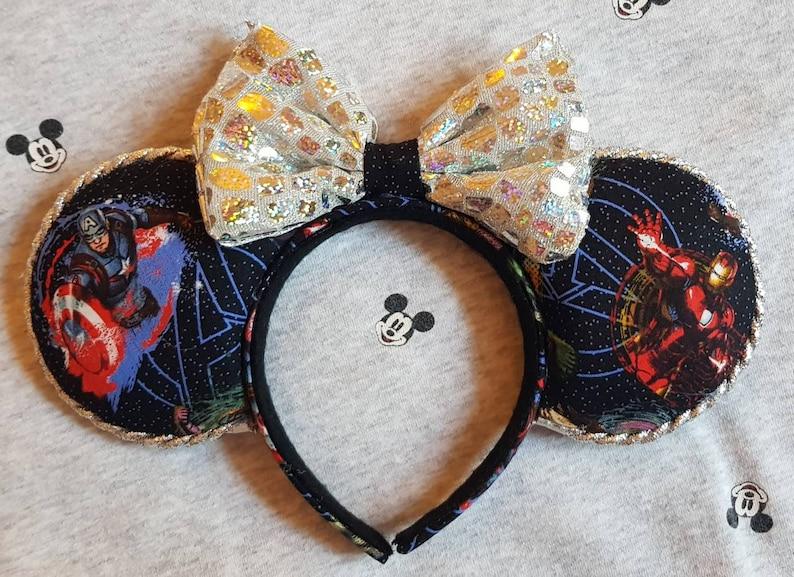 Superhero Mickey Ears