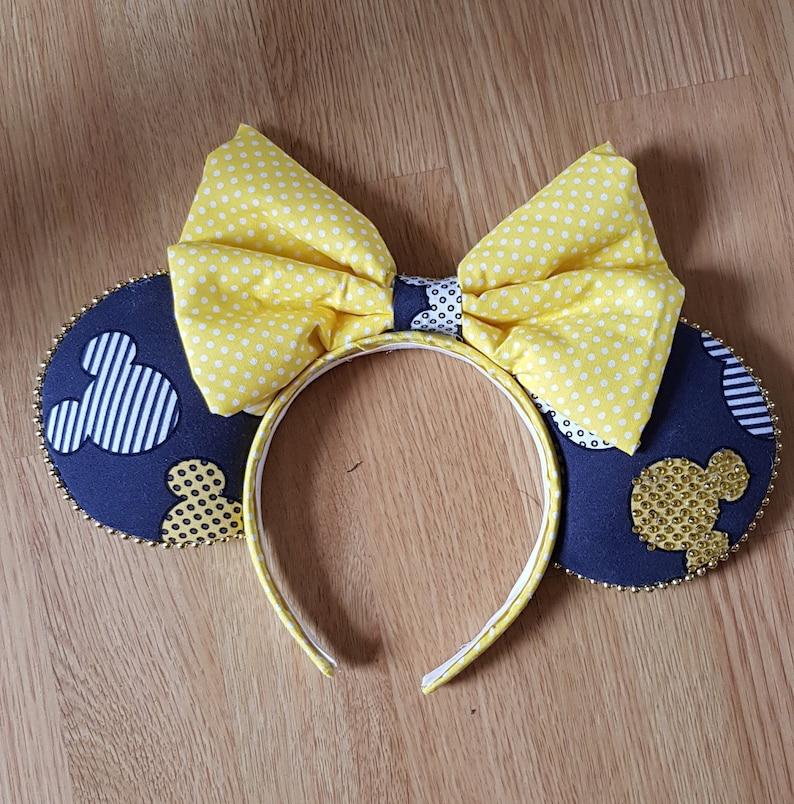 Rare Disney Fabric Ears