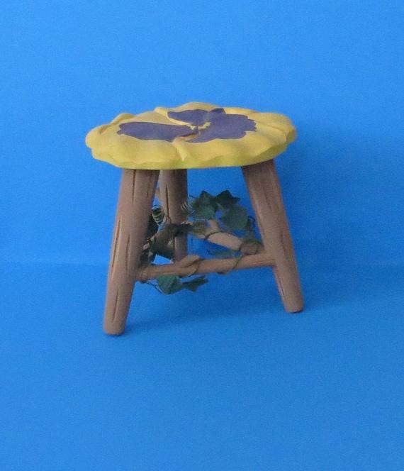 Superb Miniature Garden Stool Plant Stand Home Decor Uwap Interior Chair Design Uwaporg