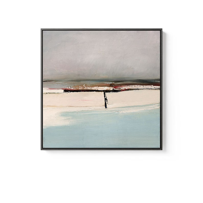 REMOTE III Large Abstract Painting Large Modern wall art ...