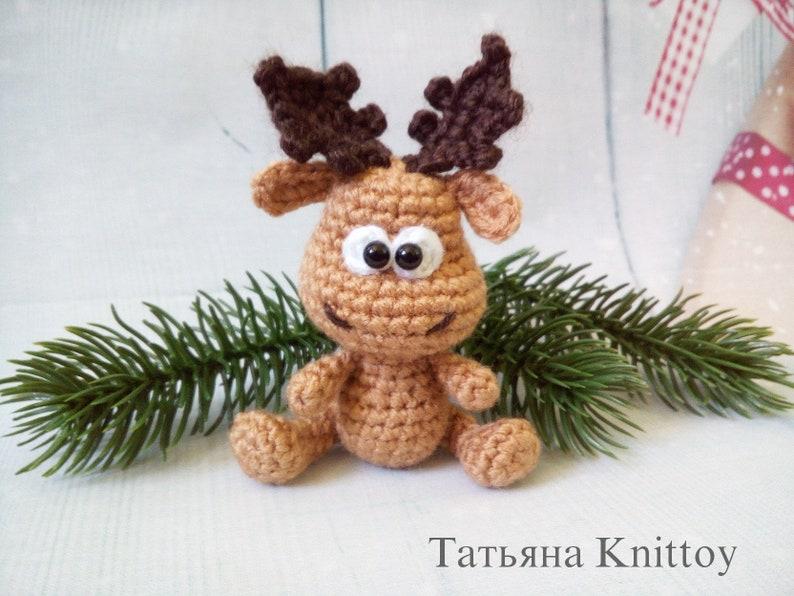 Eh Moose Big Amigurumi PDF Crochet Pattern | 596x794
