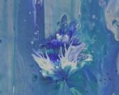 Splendor Original Art Abstract Floral