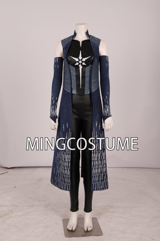 Jeu 76 Costume Cosplay Femmes Halloween costumes femmes accessoires Set Complet Combinaison