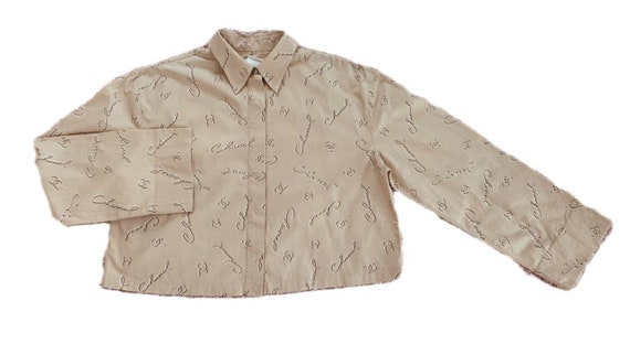 Vintage Chanel Logos Shirt