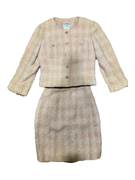 1996 Chanel Tweed Suit Set