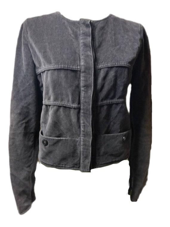 Chanel grey jacket