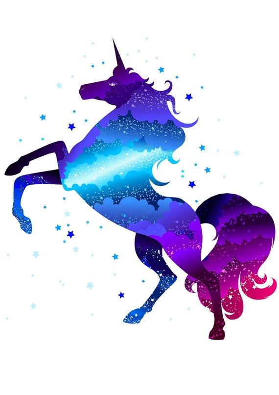Cricut Svg Unicorn Cricut Downloads Unicorn Monogram Svg Etsy