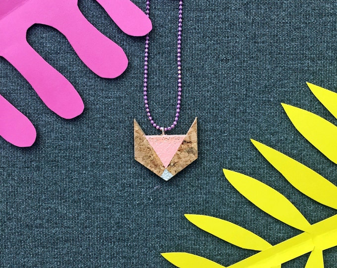 FOX Cork Necklace by Suroh.