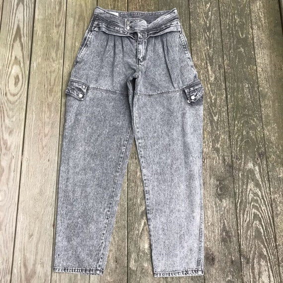 Vintage 90s Zeppelin Black Wash Baggy hip Jeans