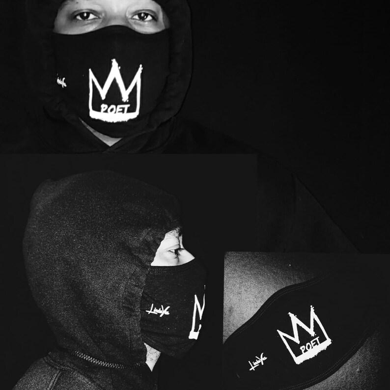 CrownMe Poet Face Mask image 0