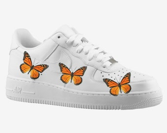 f7261adc5 Custom Nike Air Force 1, Butterfly Shoes