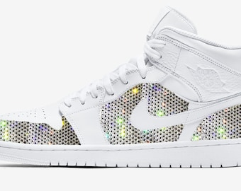 purchase cheap e1fc7 6abf4 NIKE JORDAN Customized With Swarovski Crystals, Bling Nike Shoes