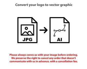 Convert scanned image to vector artwork | vector-based graphics