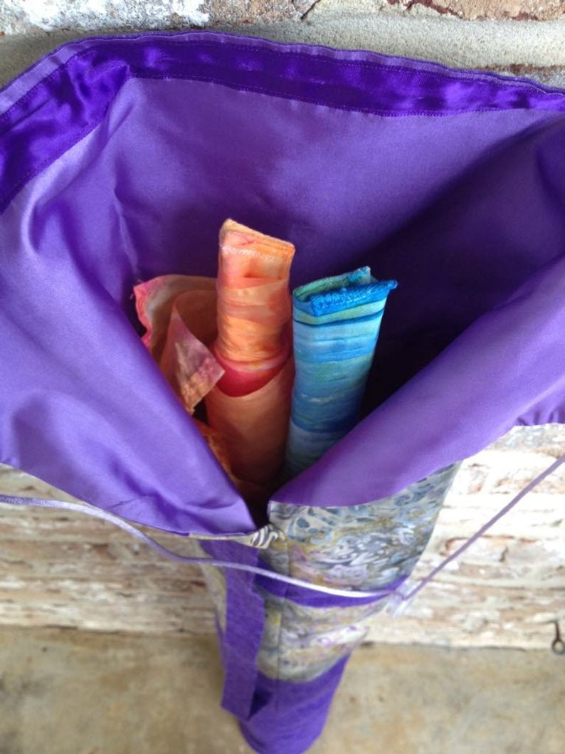 The Richness of His Love Flag Bag