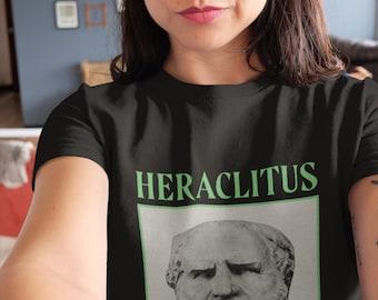 Heraclitus shirt philosophy gift Unisex T-Shirt