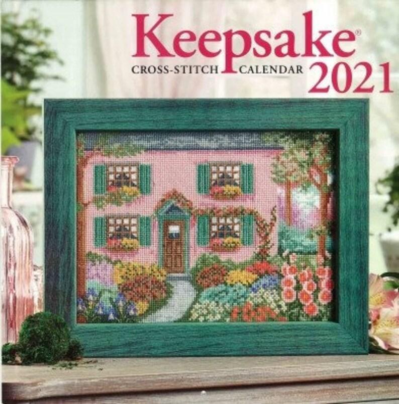 Pictures of Keepsake Cross Stitch Calendar 2021