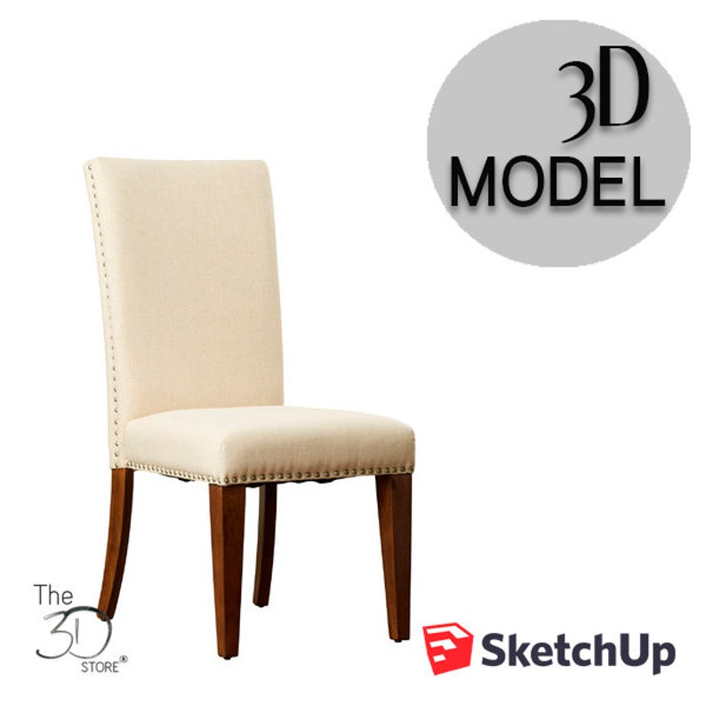 Molyns Parsons Chair 3D Sketchup Model
