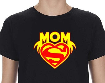 9aabff065f89e SuperMom Shirt, Gift For Her, Super Hero Mom, Mommy t shirt
