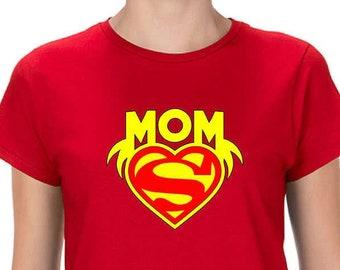 ffe224a240395 SuperMom shirt, Superhero Mom