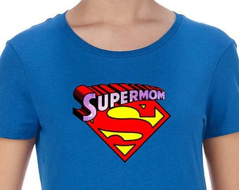 8b2b4ef6a6b30 Gift For Her, SuperMom t-shirt, SuperMom shirt, mommy t shirt