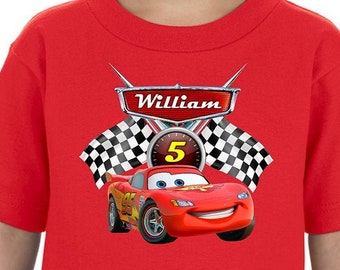 "11 Fabric Iron on Appliques /""Lightening McQueen/""/&/""Matar/""/& more from CARS Movie"