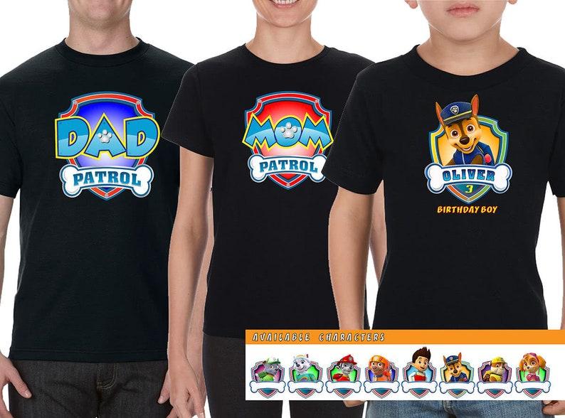 paw patrol tee paw patrol gift Paw Patrol Family Shirt paw patrol t shirt