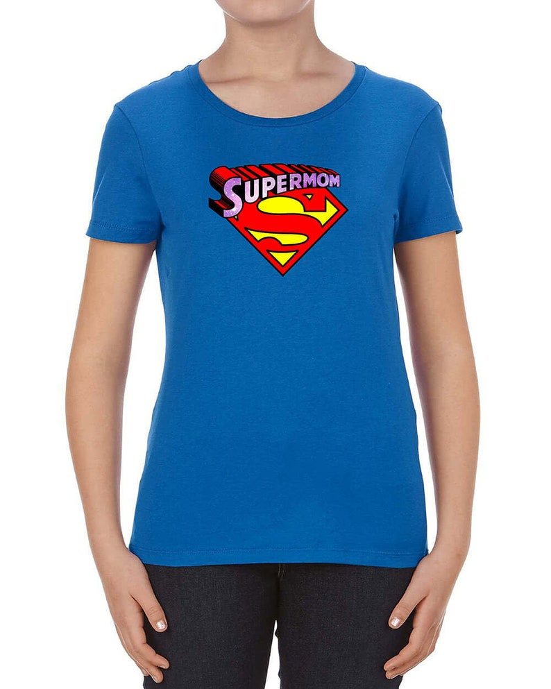 SuperMom t-shirt SuperMom shirt mommy t shirt Gift For Her