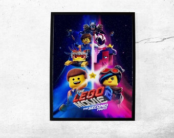 The Lego Movie 2 The Second Part Movie Poster Wall Art Maxi Prints 2019-1634