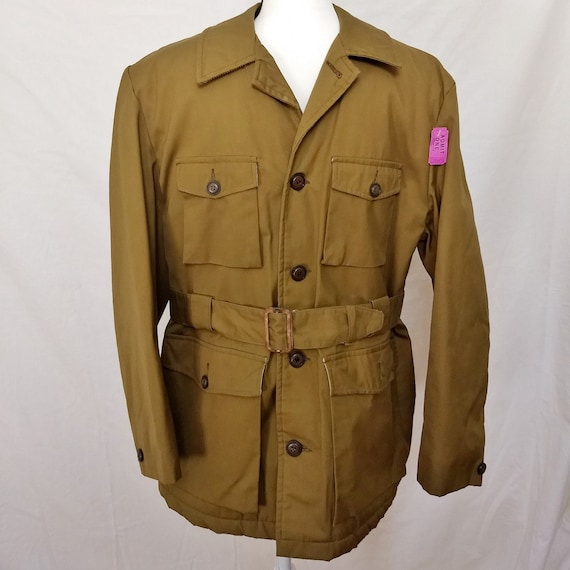 Vintage 1960s Van Heusen insulated military-style