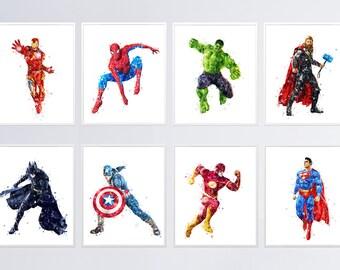 photo relating to Superhero Printable called Superhero printable Etsy