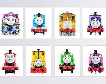 Beste Thomas train poster   Etsy PB-16