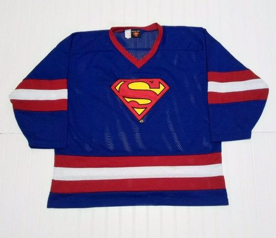 Superman hockey jersey